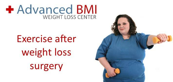 exercise after gastric bypass surgery