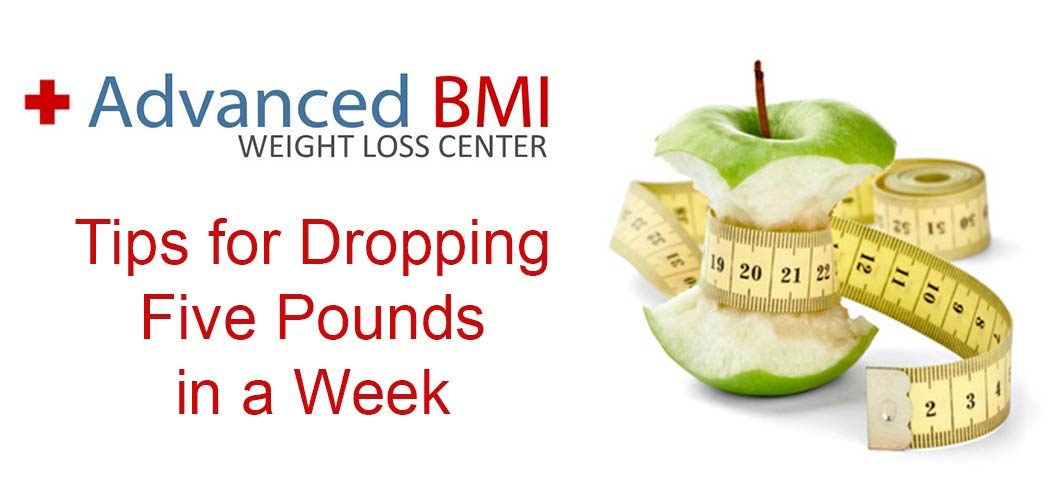 Dropping 5 Pounds in a Week