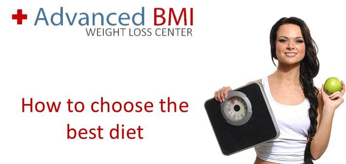 How to choose the best diet