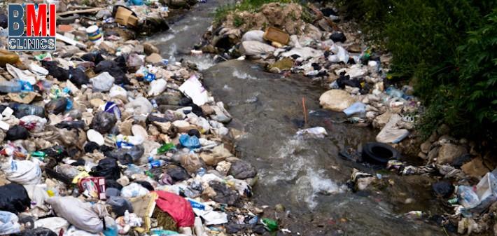 تلوث المياه في لبنان عيادة الدكتور ناجي جان صفا