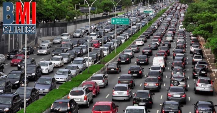 traffic jams in Beirut Lebanon