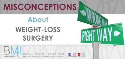 Weight-loss Surgery Misconceptions