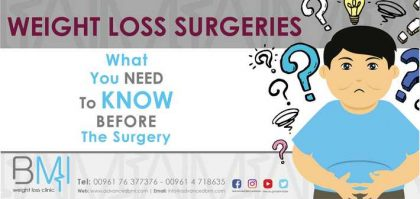 What You Need to Know before Weight-loss Surgeries