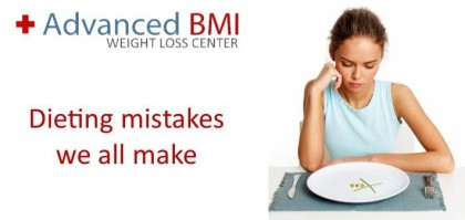 Dieting mistakes we all make