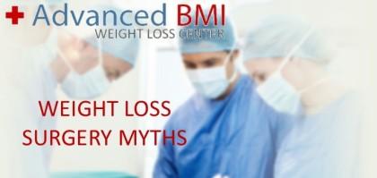 WEIGHT LOSS SURGERY MYTHS