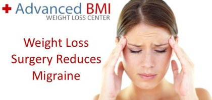 Weight Loss Surgery Reduces Migraine