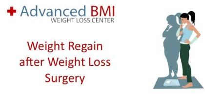 Weight Regain after Weight Loss Surgery