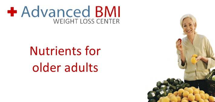 nutrients for older adults