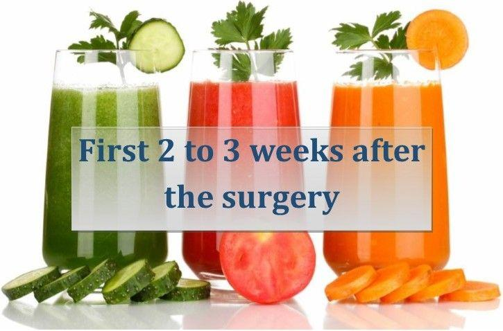 First two weeks diet after weight loss surgery for Lebanon