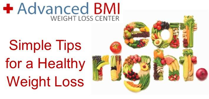 Simple Tips for a Healthy Weight Loss