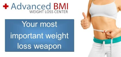 most important weight loss weapon