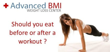 Should you eat before or after a workout
