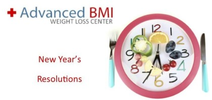 Healthy lifestyle New Year's resolutions