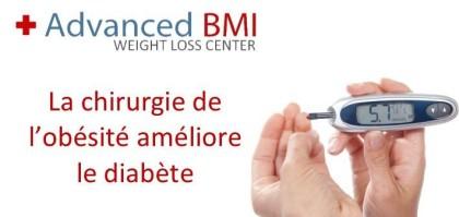 La chirurgie de l'obésité améliore le diabète
