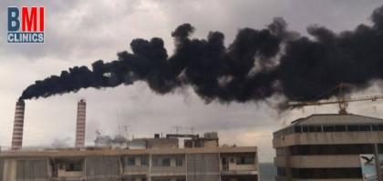 تلوث الهواء في لبنان