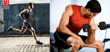 تمارين عضلات القلب أم حمل الأثقال أولاً ؟