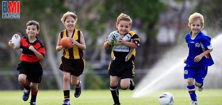 المحافظة علي اللياقة البدنية للأطفال