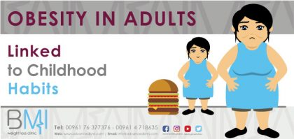 Obesity in Adults Linked to Childhood Habits