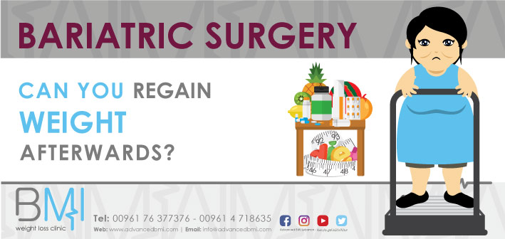 Weight Regain after Bariatric Surgery